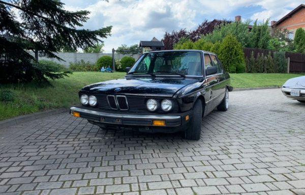 BMW E28 535 – SPRZEDANE